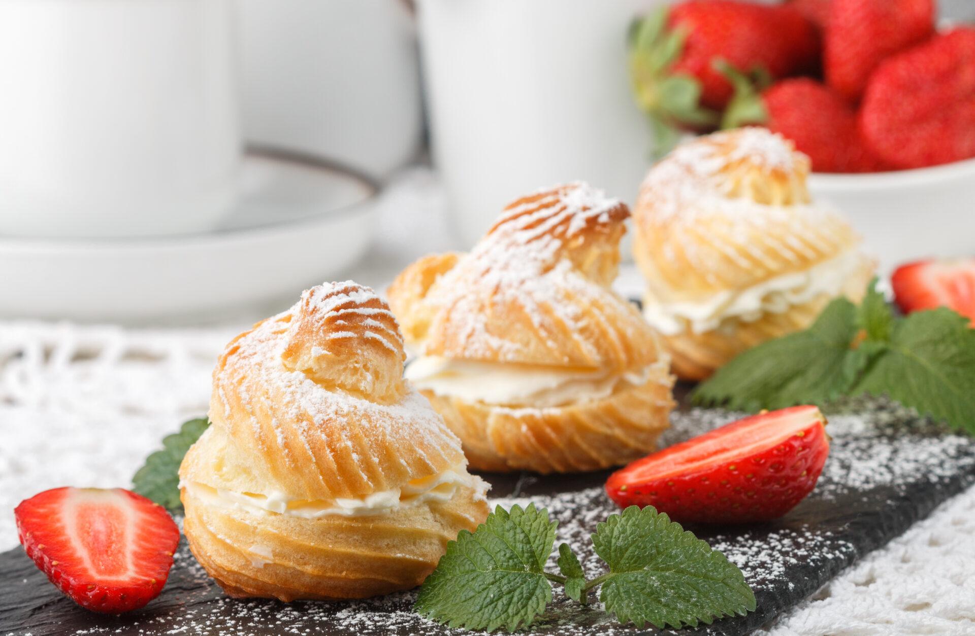 Nowość – Ciasto Parzone